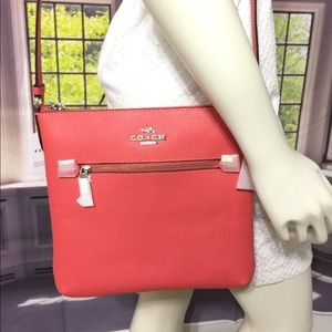 NWT Coach Rowan File Crossbody Bag